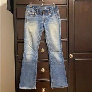 American eagle stretch kickboot jeans